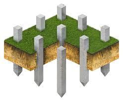 забивные бетонные